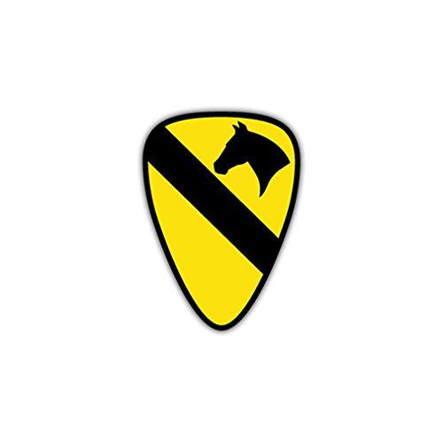 Preisvergleich Produktbild Aufkleber/Sticker 1st Us Cavalry Division Wappen Emblem US Army 7x5cm A961