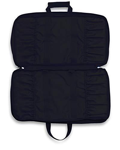 Dick Kochtasche, Messertasche Culinary Bag (Textilstoff, abwaschbar, 3 große Fächer, bis 34 Messer, Fach für Bücher, Stifte) 8101000-01