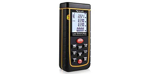 Telemetro distanziometro laser Tacklife A-LDM01con display retroilluminato