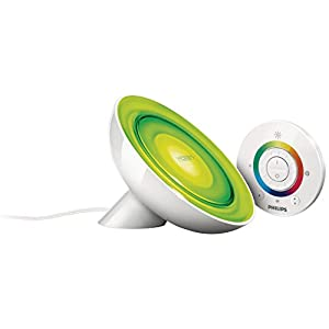Philips Lighting LivingColors Bloom Lampada da Tavolo LED, 8 W, Bianco 31VR3BT7AIL. SS300
