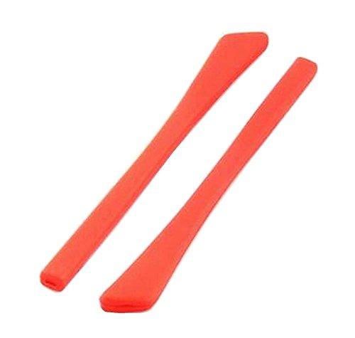 1 Paar Silikon Gläser Tempel End Tipps Brillen Ohr Pads Tube Ersatz Rot preisvergleich
