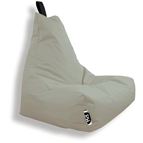 Patchhome Lounge Sessel XXL Gamer Sessel Sitzsack Sessel Sitzkissen In & Outdoor geeignet fertig...