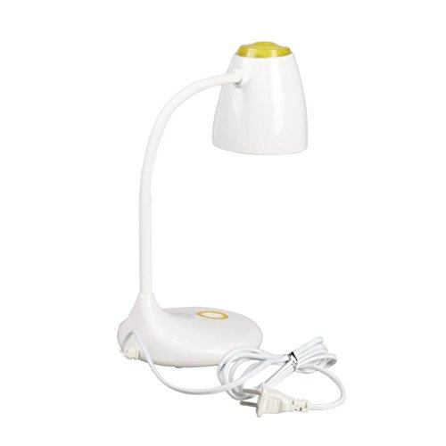 LED Schreibtischlampen LED-Schreibtischlampe, DIY Dekoration Miniatur führte 5W Tischlampe Fairy Terrarium Potting Garten Decor Schwanenhals LED Leselampe (keine Lichtquelle) , 001 (Miniatur 5w)