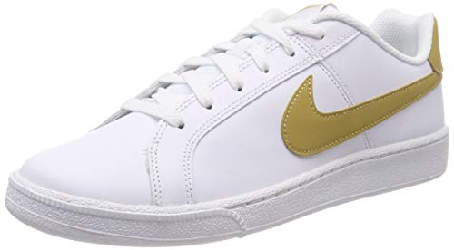info for 39139 b4dc2 Nike Court Royale, Zapatillas para Hombre, Blanco (White Club Gold 106)