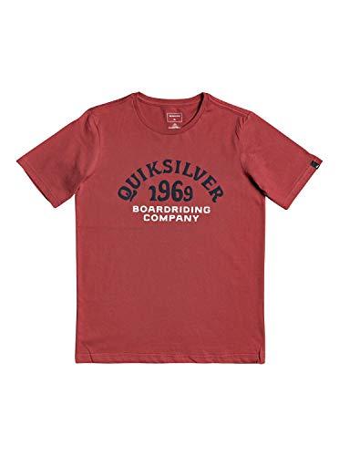 Quiksilver - Camiseta - Niños 8-16 - Rojo