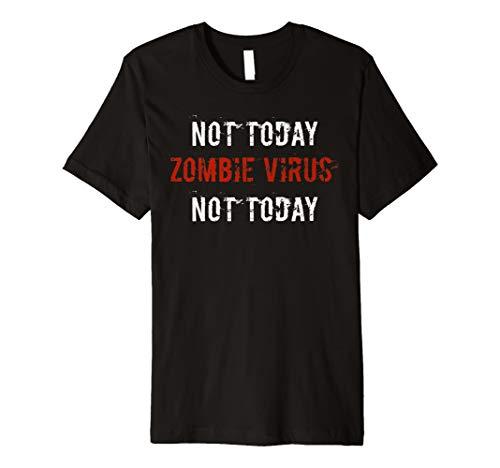 Zombie Virus Funny Halloween Shirt Humor Kostüm Geschenkidee