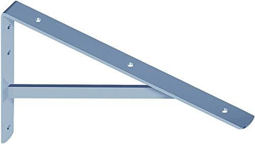 Gedotec Schwerlast-Konsole Metall Regalträger Winkel-Konsole verzinkt - Athena | Tiefe 295 mm | Schwerlastträger Tragkraft 200 kg | Regalhalter Stahl massiv | 1 Stück Regalkonsole für die Wandmontage
