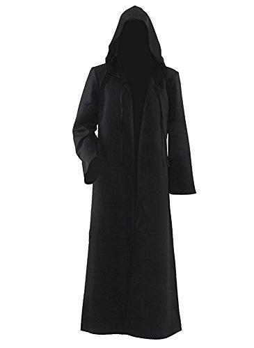 Tiny Time Herren Ritter Cosplay Kostüm Robe Bunt Halloween Mantel Outfit (Herren-XXL, (Kostüme Xxl Herren)