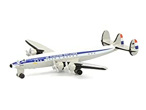 Schuco 403551696 403551696-Lockheed KLM - Maqueta de Coche (Escala 1:600), Color Blanco