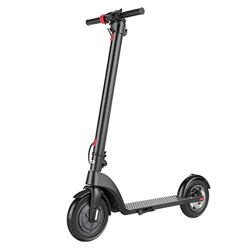 WANG XIN Elektroroller Folding City Scooter, Roller mit 12 km Langstreckenbatterie, bis zu 25 km/h, einfach zu Falten und zu tragen Design E-Scooter for Erwachsene und Kinder