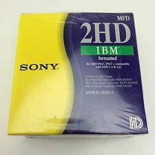 Sony 2HD IBM formatiert 1,44MB 10Stück Disketten–PN: 10mfd-2hdcf–EAN: 4901780190737–(Versand und Verkauf von mixvale Sammlungen)