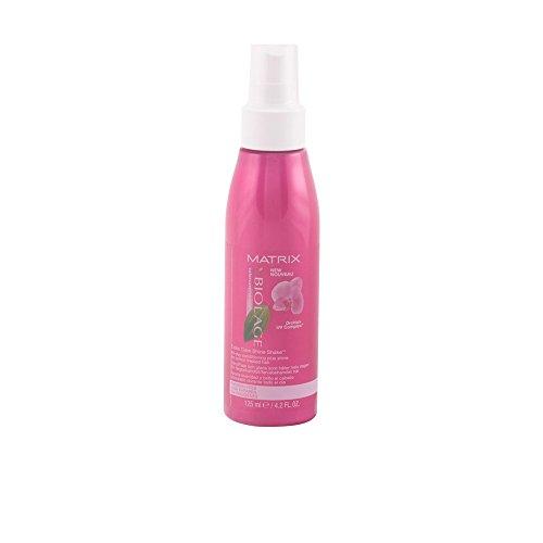 Spray lustrant Biolage Shine Shake - Protège l'intensité de la couleur, contrôle le reflet et révèle la brillance - Pour des cheveux colorés brillants et doux comme des pétales - 124 ml