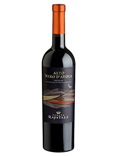 ALTO NERO Nero d'Avola Sicilia DOC - Tenuta Rapitalà - Vino rosso fermo 2017 - Bottiglia 750 ml
