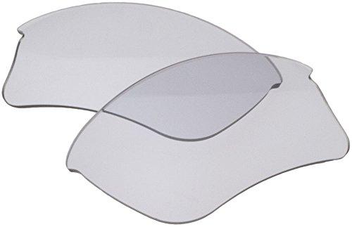 Zero Ersatzgläser für Oakley Flak Jacket XLJ A Sonnenbrille klar grau photochromic