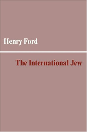 The International Jew por Henry Ford