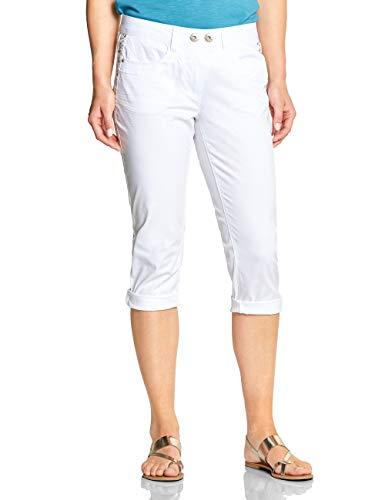 Cecil Damen 372318 Hose, White, W31(Herstellergröße:31) -