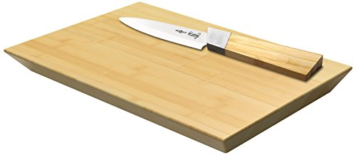Cookut BB10 Set Couteau Bambou/Céramique S