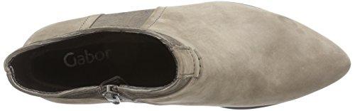 Gabor Shoes 31.68 Stivale Donna Manica Corta Beige (cenere (micro) 43)