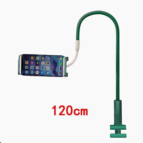 GHMOZ Handy- Und Tablet-Ständer, Verstellbare Und Abnehmbare Halterung Mit Halterung for 4-12,9 Zoll Handy Oder Tablet (Color : Green, Size : 120cm) (Htc-tablet Entsperrt)
