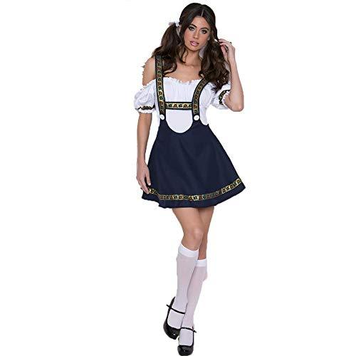 Damen Halloween Theme Party Kostüm Kostüm Arbeit Kleidung Bier Kostüm Bier Festival Kostüm ()