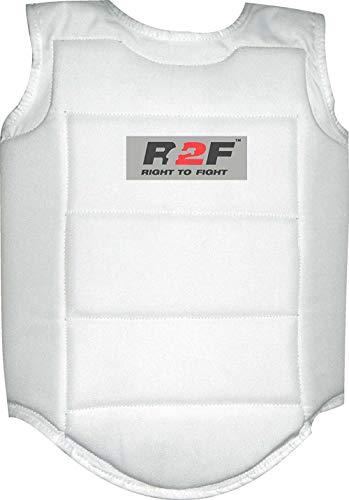 R2F Sports Cuerpo Protector - Karate/ Taekwondo Formación