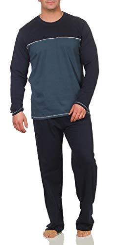 Schiesser Herren Schlafanzug Pyjama lang (48 / S)
