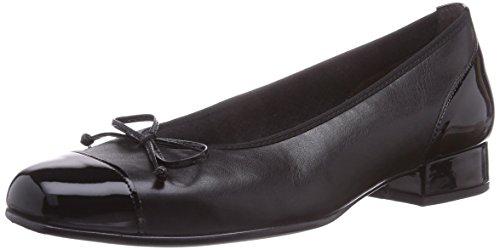 Gabor Shoes Comfort Basic, Damen Geschlossene Ballerinas, Schwarz (Schwarz 67), 35.5 EU (3 Damen UK) (Patent Leder Ballerina Schwarz)