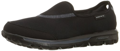 Skechers Women's GOwalk Impress Trainers - Black (Bbk), 7 UK (40 EU)