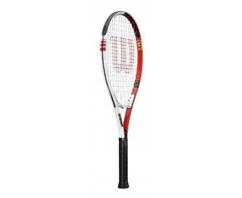 Wilson Federer 110 - Racchetta da tennis per adulti, Unisex, multicolor - multicolor