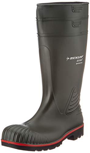 Dunlop A442631 S5 ACIF.KNIE GROEN 44, Unisex-Erwachsene Langschaft Gummistiefel, Grün (Groen) 08), 42 EU (8 UK)