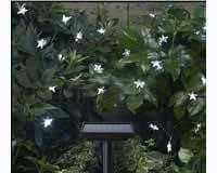 Smart Solar 3730WR30 Solar Star Led-Lichterkette, 30 LEDs, Mit Stern, Weiß