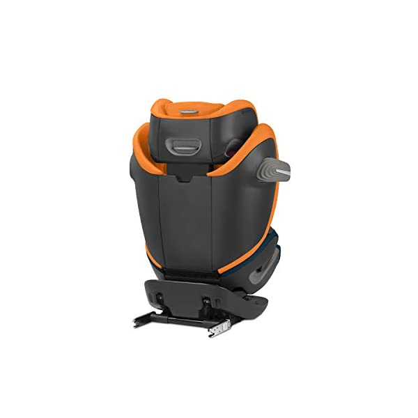 CYBEX Gold Pallas S-Fix 2-in-1 Child's Car Seat, For Cars with and without ISOFIX, Group 1/2/3 (9-36 kg), From approx. 9 Months to approx. 12 Years, Premium Black Cybex Sturdy and high-quality child car seat for long-term use - For children aged approx. 9 months to approx. 12 years (9-36 kg), Suitable for cars with and without ISOFIX Maximum safety - Depth-adjustable impact shield, 3-way adjustable reclining headrest, Built-in side impact protection (L.S.P. System), Energy-absorbing shell 12-way height-adjustable comfort headrest, One-hand adjustable reclining position, Easy conversion to Solution S-Fix car seat for children 3 years and older (group 2/3) by removing impact shield and base 2