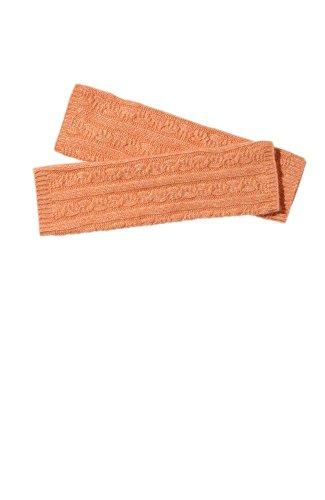 Sportliche Armstulpen Für Frauen (Armstulpen kuschelig weich, Patti, 40% Wolle, 30% Acryl, 20% Angora, 10% Cashmere, (Orange))