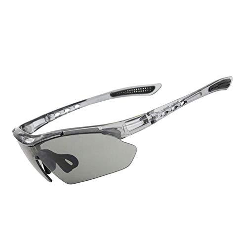 Beydodo Schutzbrille Herren Damen Grau Brille Winddicht Radsport Sonnenbrille Schießbrille Sportschützen