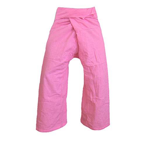 Therapie-rose (PANASIAM Thai Fisherman Pants, Rose, L)