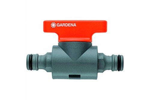 Gardena G2976-26 Llave de Paso Para la regulación Gradual o cierre Del caudal de Agua de una manguera, Estándar