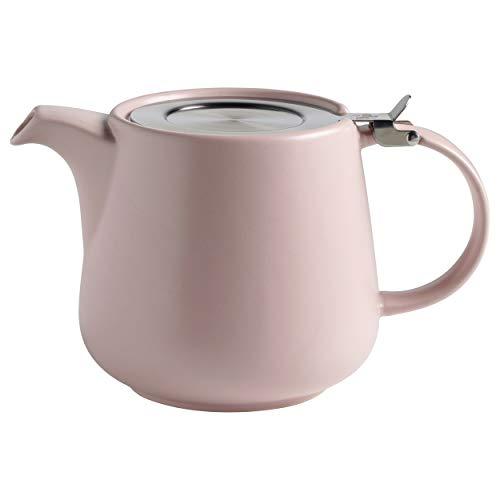 int Teekanne 1200 ml, Rosa, Keramik/Edelstahl ()
