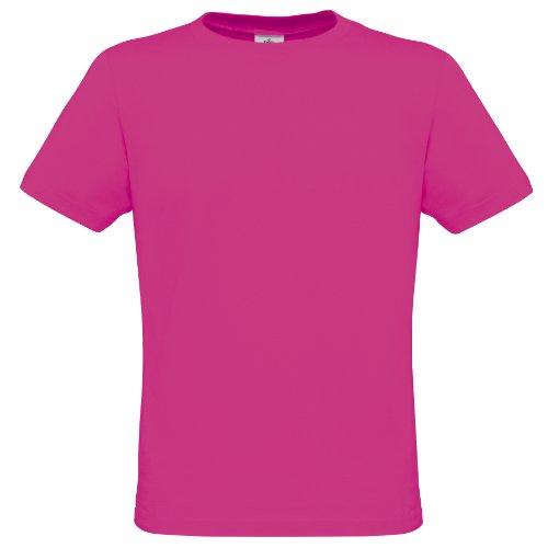 B&C Herren T-Shirt, Kurzarm, Rundhals, Neon-Farben Ultra Grün