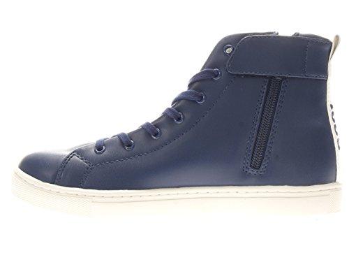 Guess Bambino Sneaker FJSAM3 ELE12 NVY SAMMY HI SNEAKER Blu