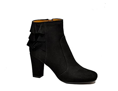 Chie Mihara Women's Achaantenegro Black Suede Ankle Boots