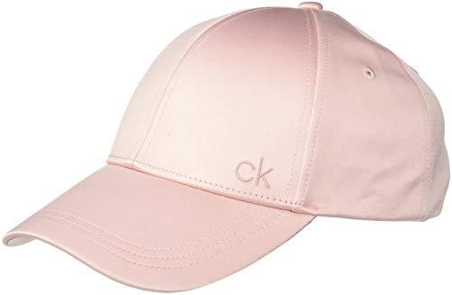 Calvin Klein Damen Baseball Cap SATINETTE, Rosa (Petal 629), One Size