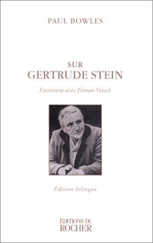Sur Gertrude Stein