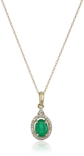 10k-yellow-gold-genuine-emerald-oval-shape-with-white-diamond-accent-pendant-necklace-1-10cttw-i-j-c