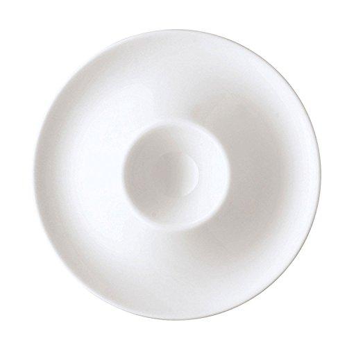 Arzberg Form 2000 Huevera con Bandeja, Soporte de Huevos, Blanco, Porcelana, 42000-800001-15525 preisvergleich