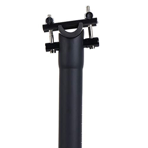 LRG Tija de Sillín Bicicleta Fibra de Carbono MTB Bicicleta de Carretera 27.2mm