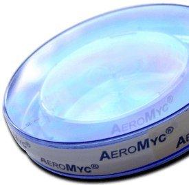 Schimmeltest - 4 x AeroMyc-Test Schnell-Check Raumluftanalyse für Schimmelpilz inkl. qualifizierter Laboranalyse und Rücksendegutschein