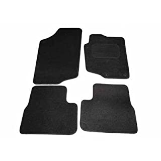207 Perfect Fit Tailored Black Car Mats by AoE Performance
