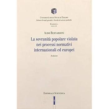 La Sovranità Popolare Violata Nei Processi Normativi Internazionali Ed Europei