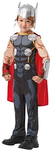 Kampf Kostüm Mädchen Armee - Rubie's 6408909-10Marvel Avengers Thor Classic Kind Kostüm, Jungen, one size