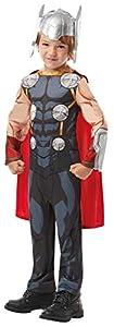 Rubies 640890 9 - 10 Marvel Avengers Thor Classic - Disfraz infantil para niños, talla única